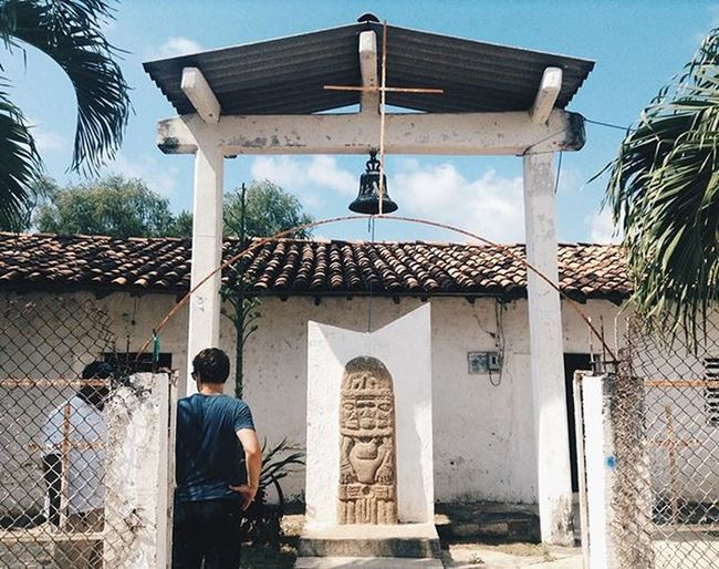 Church and an ancient relic Zihuatanejo Mexico Travel Incas Vscotravel Travelthingstodo