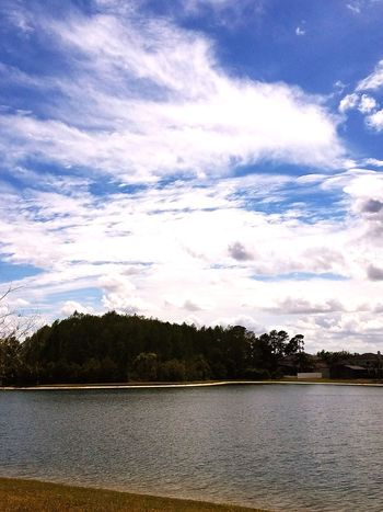 Tree Lake Water Cloud - Sky Outdoors No People Beauty In Nature Nature