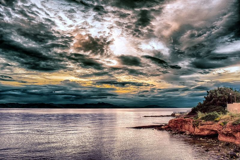 The Great Outdoors With Adobe Nikon D5200 GREECE ♥♥ Mati, Nea Makri Nature_perfection Greece Clouds And Sky Seascape Photography Christopher Kokkalis Natural Beauty The Great Outdoors - 2016 EyeEm Awards