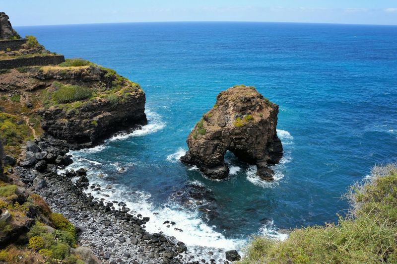 Sea Blue Sky Sunlight Nature Beauty In Nature Beach Outdoors Day No People Animals In The Wild Horizon Over Water Scenics Water Vacations Tenerife Travel