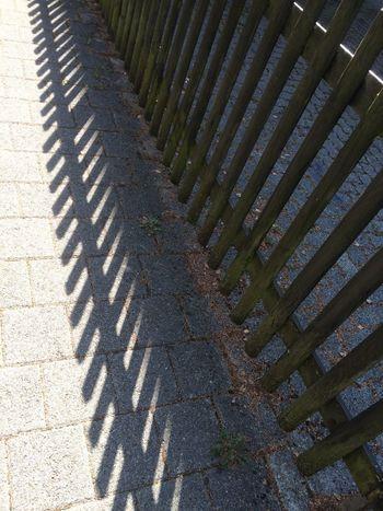 Footpath Shadow Cobblestone High Angle View Walkway