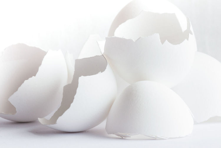 Eggshells Macro Photography Nikon Broken Close-up Cracked Egg Eggshell Food Food And Drink Fragility Freshness Healthy Eating Indoors  Macro Nature Nikonphotography No People Shell Still Life Studio Shot Vulnerability  Wellbeing White White Background White Color