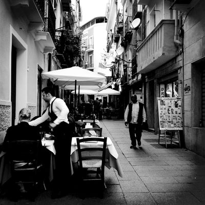 Welcome to our restaurant Amptcommunity_street NEMstreet NEM Black&white Week On Eyeem