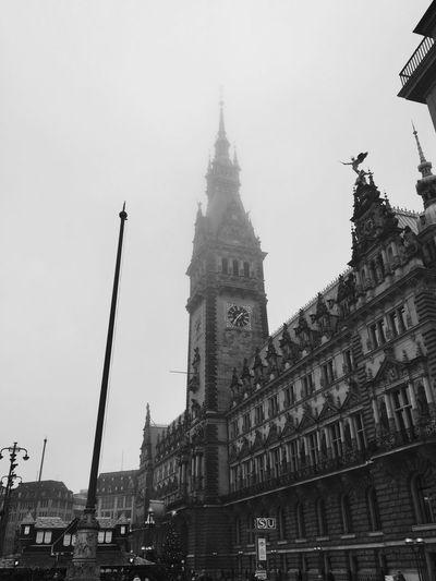 Hamburg Black And White