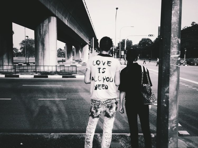 Happy Valentine's day! Mobile Love Streetphotography Blackandwhite Love