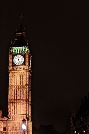 Architecture Big Ben Building Exterior Clock Tower Illuminated London London At Night  Low Angle View Night Night Photography Tall - High Tower Travel