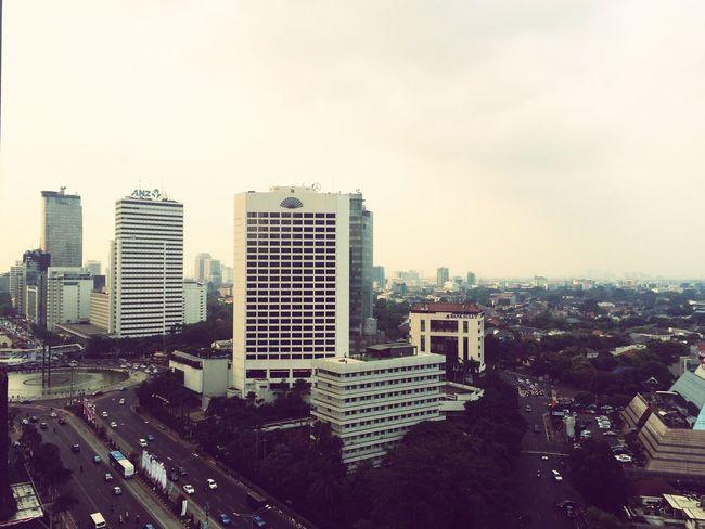 Jakarta INDONESIA Gloomy UpinTheSky