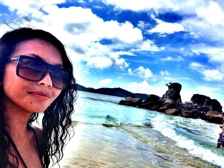 Beach Landscape Photo Hello World
