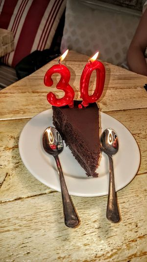 My 30th 30 30thBirthday Today's Hot Look Samsung Galaxy S6 Edge Enjoying Life Cake Birthday Chocolate Cake Joy Enjoying Life Memories