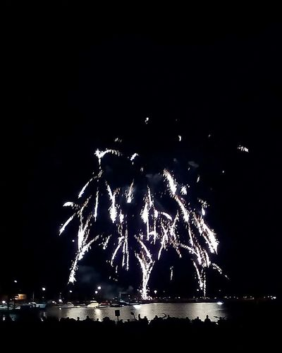 Fireworks Sky Beach Fourth Of July Sandpoint Photography Photo Bright People Tablet Cameramx
