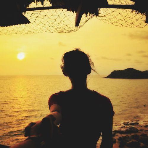 Koh Lanta Sunset Sea And Sky Beach