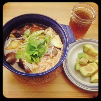 トンヤムヌードル Dinner