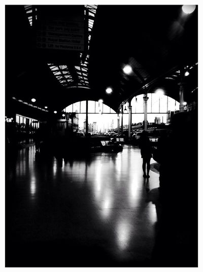 at Newcastle Central Railway Station (NCL)