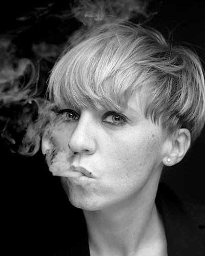 1 month/ Stopsmoking Cigarette  Free Photograhy Blackandwhite Portrait Profoto B1