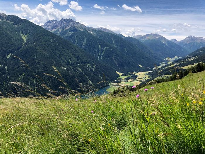 Have a wonderful day, dear friends🙋🏻♀️😀 Südtirol Ultental South Tyrol Alto Adige Italien Italia Italy EyeEm Selects Mountain Beauty In Nature Plant Scenics - Nature Mountain Range Environment Green Color Landscape Tranquil Scene Tranquility Land Grass Nature Tree Growth