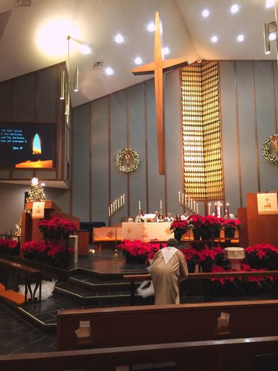 Church Christmas Eve Service KentOhio TheCross Christmas Praying IPhoneography Iphonephotography IPhone Photography