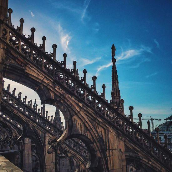 Milan Cathedral NEM Submissions NEM Architecture Travel Photography AMPt - Vanishing Point From The Rooftop