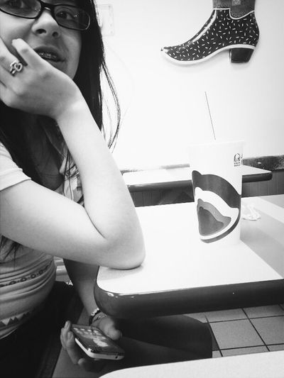 Taco bell with my Cassie ♥
