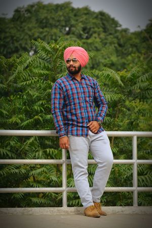 Only Men Adults Only One Person Young Adult Standing Beard Full Length One Young Man Only Rural Scene Black Beauty EyeEmNewHere Mature Adult Gabru Beauty In Nature Urban Lifestyle Close-up Turban Headshot Mensfashion Long Goodbye Welcome To Black Mustache Traditional Clothing Real People Full Frame