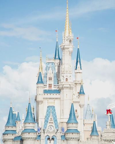 Architecture Building Exterior Built Structure Business Finance And Industry Castle City Cityscape Day Disney Disneyland DisneyWorld History Magic Kingdom No People Outdoors Sky Travel Destinations