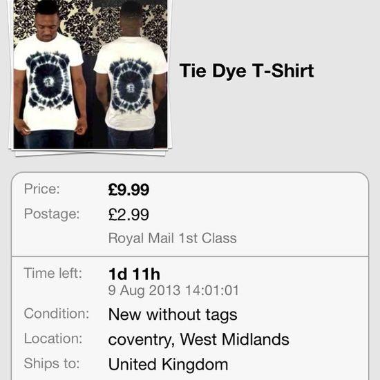 Look at this on eBay: Tye Dye! Ebay Tshirt http://bit.ly/14LSZl7