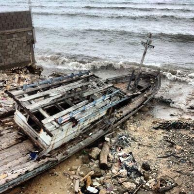 Yang tersisa dari badai di Kupang, lokasi Belakang In & Out Resto Kupaang, Kamerahpgw Kamerahpgw_Kupang Xtraordinarynoya