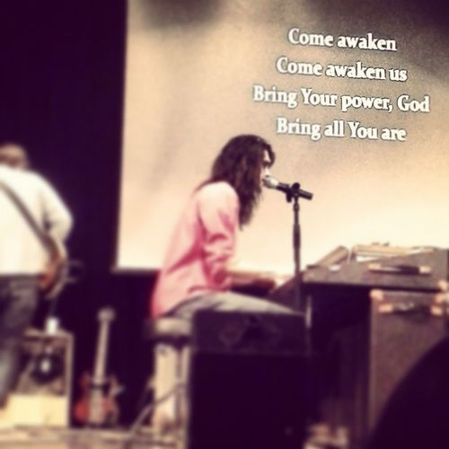 Come awaken us. Let us rise to meet your love. Bellarive Coffeehouse Concert Awesomenightwiththelord