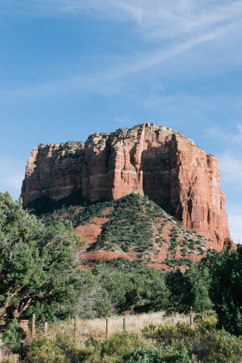 Arizona Desert National Park Red Rock Sedona Sedona, Arizona Beauty In Nature Cliff Day Geology Landscape Low Angle View Nature No People Outdoors Physical Geography Rock - Object Rock Formation Scenics Sky Tranquil Scene Tranquility Tree