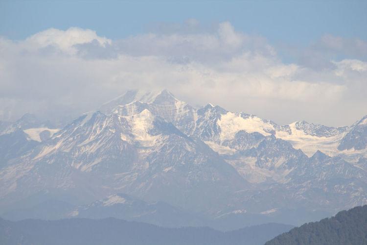 Himalayan snow caps