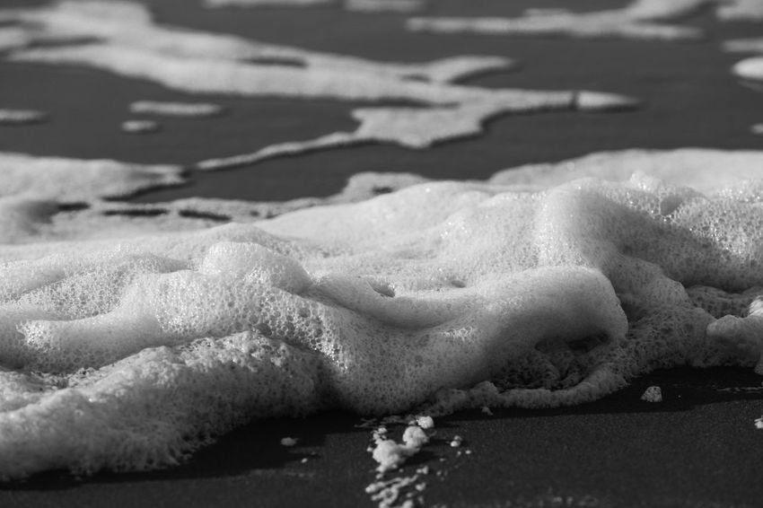 Foam at the beach, caused by dead algae and stormy weather Black & White Beach Black And White Black And White Photography Blackandwhite Blackandwhite Photography Blackandwhitephotography Close Up Close-up Closeup Day Foam Foamy Foamy Water Nature No People Outdoors Sand Shadow Sunlight Water