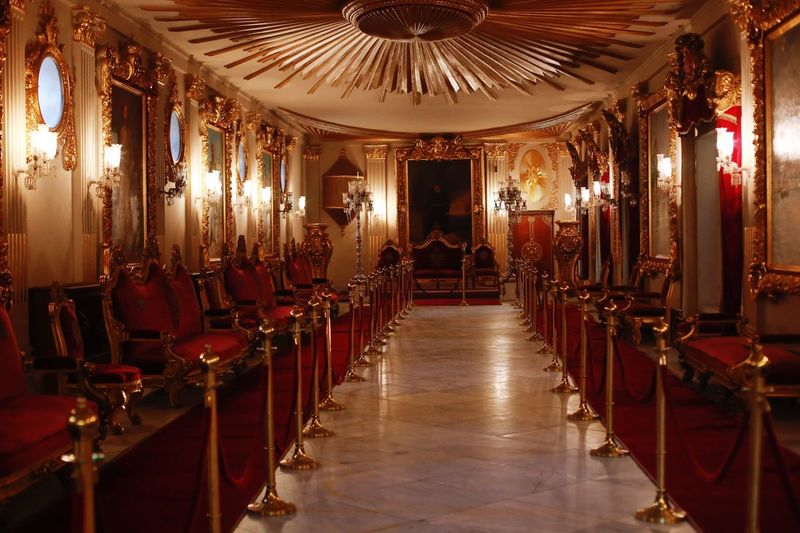 Meeting Room King - Royal Person Egyptian Museum First Eyeem Photo Light And Shadow Palace In A Row Indoors  Chair Luxury Arts Culture And Entertainment Nightlife No People Baroque Style