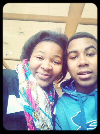My Big Brother Ate Lunch W| Me Today !