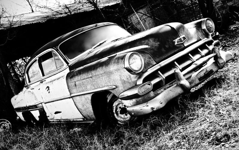 Scenics Texas Photography Texas Photographer Car Antique Car Deep In The Heart Of Texas (: Texas Highway Old Car Rustic Rustic Style Abandoned Places Old Black And White Blackandwhite Photography Land Vehicle Mode Of Transport Damaged Obsolete