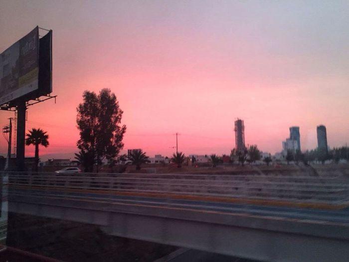 Sunset Bridge Red