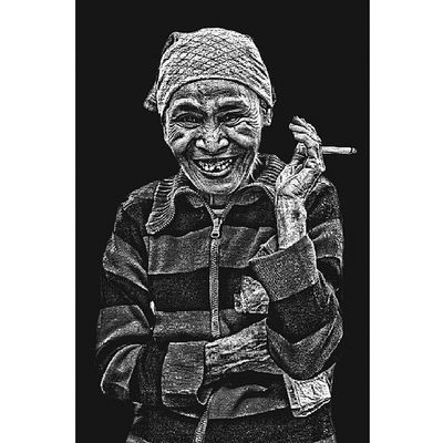 THE OLD MAN Bw_indonesia Uploadbareng_bwi_40 Bw_indonesia Potrait People Photography Photooftheday Instabanjar Upau Artpx Instapahuluan