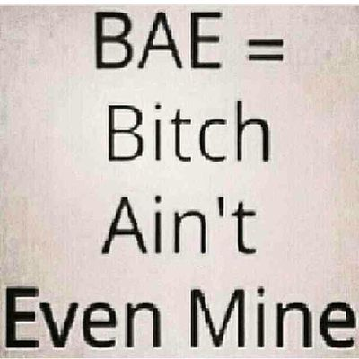 ??????? Here goess the meaning of bae ?