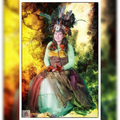 Portrait Fantasy Photography Clockwork Carrousel Fantasy Portrait Of A Woman Steampunk Photography Colorful