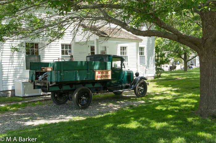 Still working Mystic Seaport Work Working Antique Truck Branch Day Grass Green Color Historic Historical Nature No People Outdoors Transportation Tree Truck