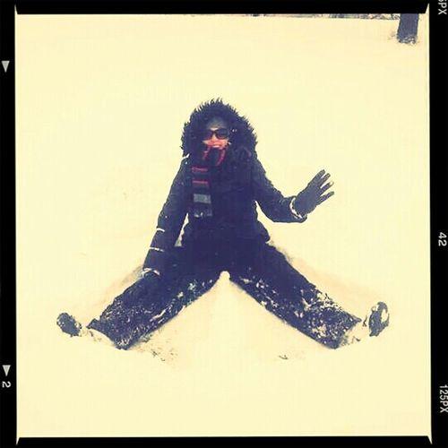 Snowangel Snow Had Fun In The Snow !!