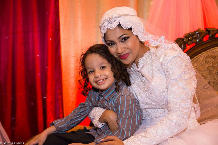 Portrait Wedding Dress Happiness Celebration Beautiful Trinidad And Tobago Life Events Muslimwedding Love Stillife Caribbean Bride