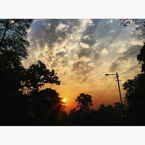 Sunrise Sky Clouds