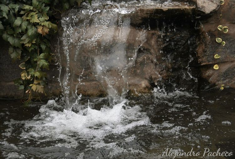 Pequeña caida de agua First Eyeem Photo