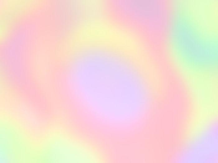 Defocused image of rainbow