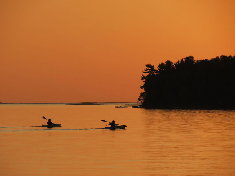 Kayak Enjoying Life Twilight EyeEm Nature Lover Be. Ready. Calm Beauty In Nature Clear Sky Orange Color Orange Colour Outdoors Real People Rowing Scenics Silhouette Sky Sunset Togetherness Tranquility Water EyeEmNewHere EyeEm Ready   Nautical Vessel Horizon Over Water Tranquil Scene Nature Sea An Eye For Travel Colour Your Horizn