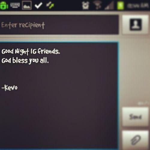 Maayong Gabii.. Night Sleepy Dozeoff Hittinthesack zzzzzz