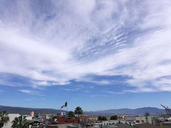 Bandera De Mexico Ensenada B.C. Landscape Outdoors City