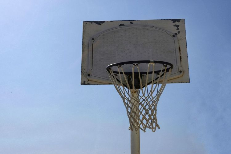 Game of the outdoor basket