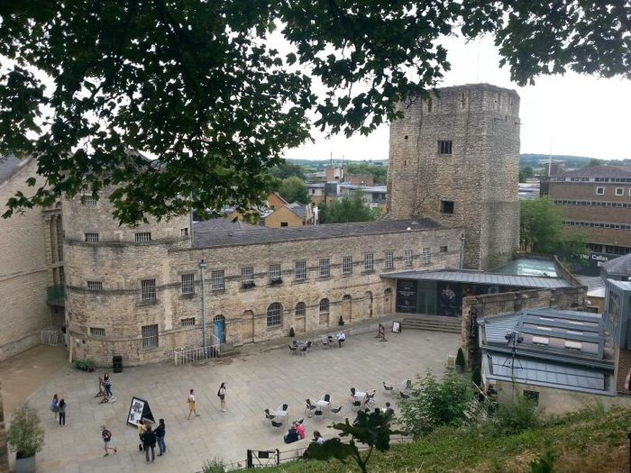 OXFORD CASTLE UNLOCKED Castle A View From The Hill Prison History Through The Lens
