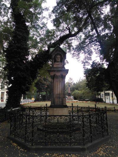 Park Johann Sebastian Bach Leipzig Sachsen Germany Memorial Sculpture Statue Deutschland