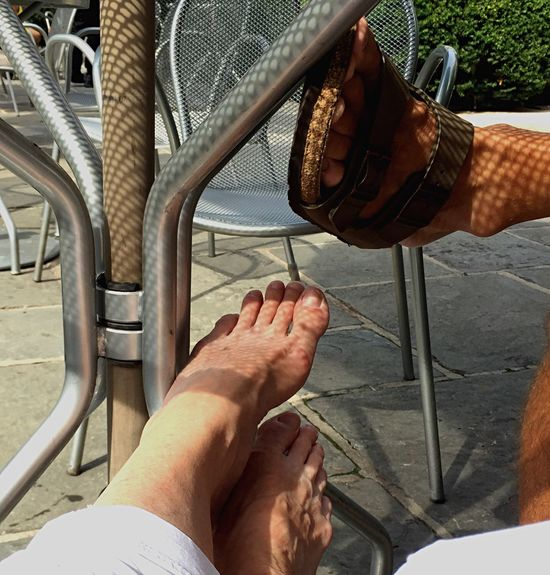 Personal Perspective Feet Light And Shadow Filtered Light Outdoors Leisure Activity Relaxing Moments Embraceurbanlife Live For The Story Place Of Heart Connected By Travel Second Acts This Is Aging